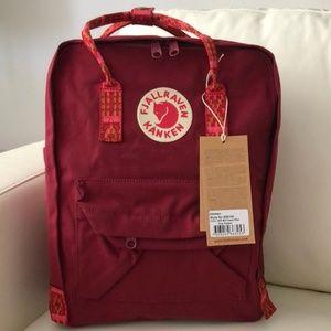 Fjallraven kanken backpack classic burgundy